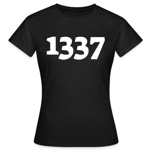 1337 - Dame-T-shirt