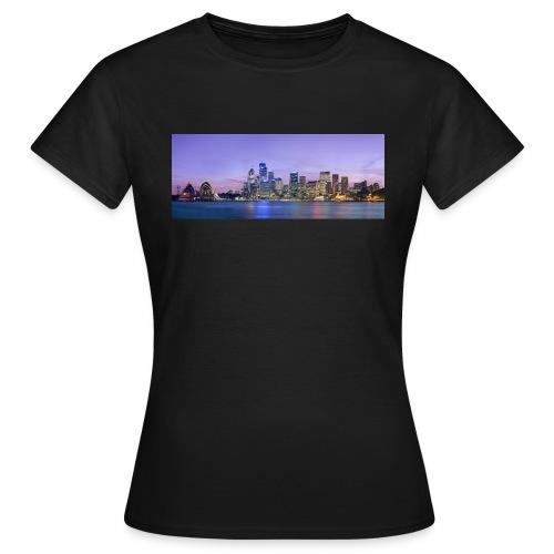Sydney skyline - Frauen T-Shirt