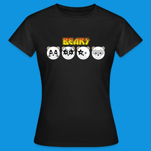 Kiss Bears.png - Women's T-Shirt