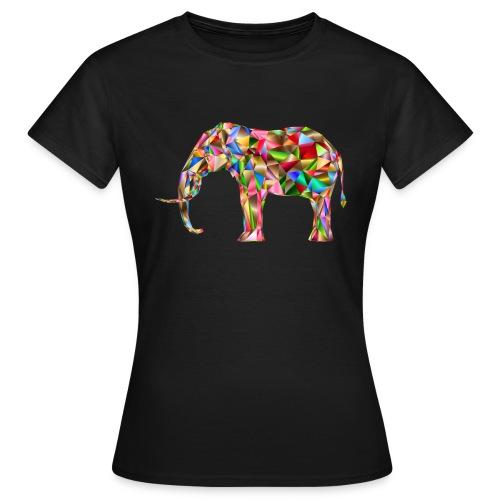 Gestandener Elefant - Frauen T-Shirt