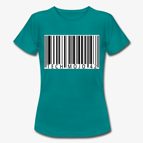 TM graphic Barcode Answer to the universe - Women's T-Shirt