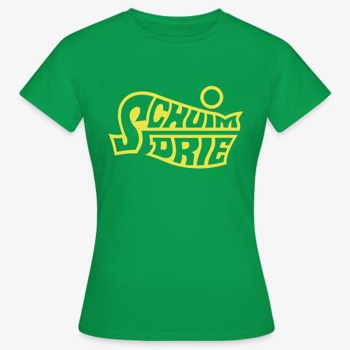 logo schuimdrie - Vrouwen T-shirt