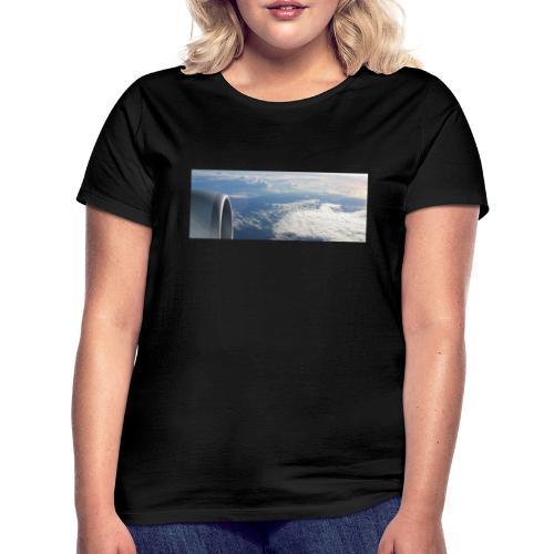 Flugzeug Himmel Wolken Australien - Frauen T-Shirt