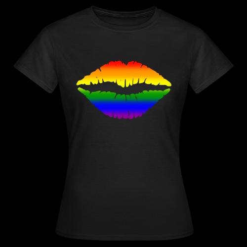 Gay Gesichtsmaske - Frauen T-Shirt