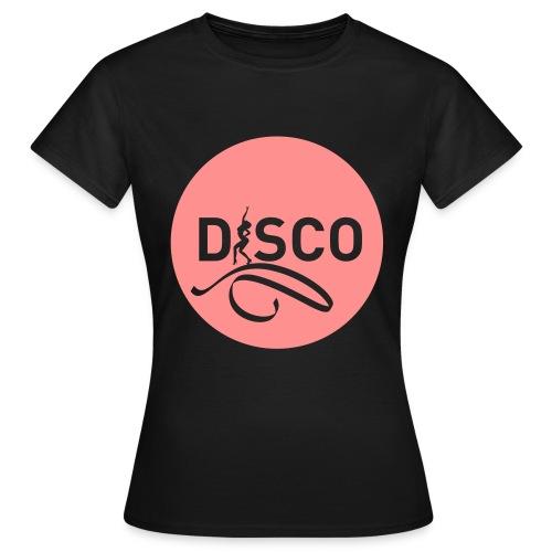 05-disco-pastille-noire - T-shirt Femme