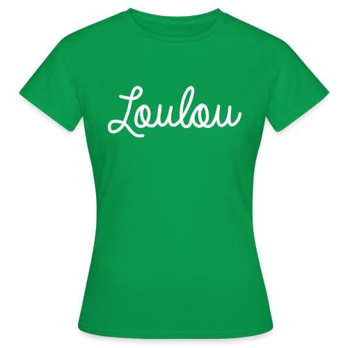Logo-Wit - Vrouwen T-shirt
