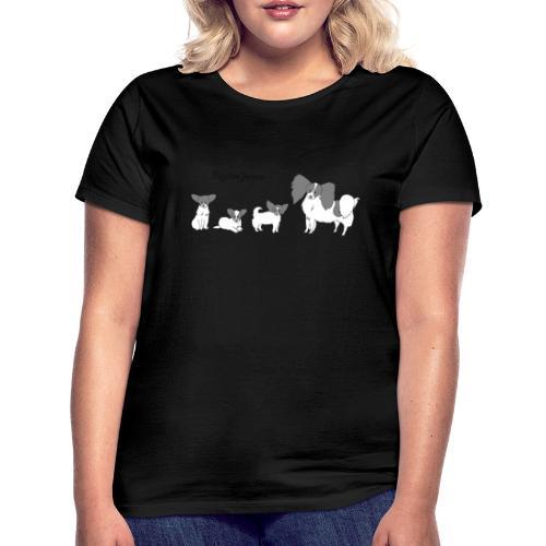 papillon forever - Dame-T-shirt