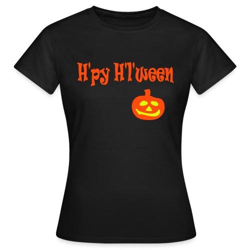 Happy Halloween - Frauen T-Shirt