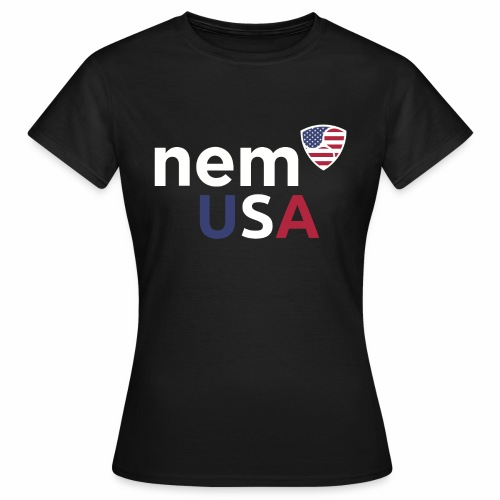 NEM USA white - Maglietta da donna