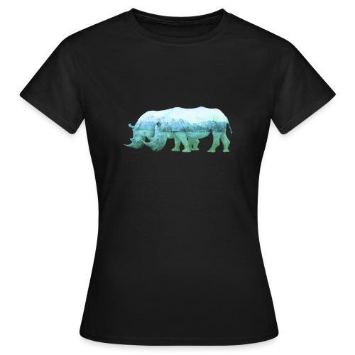 RHINOS, DIE NASHÖRNER IN DEN ALPEN - Frauen T-Shirt