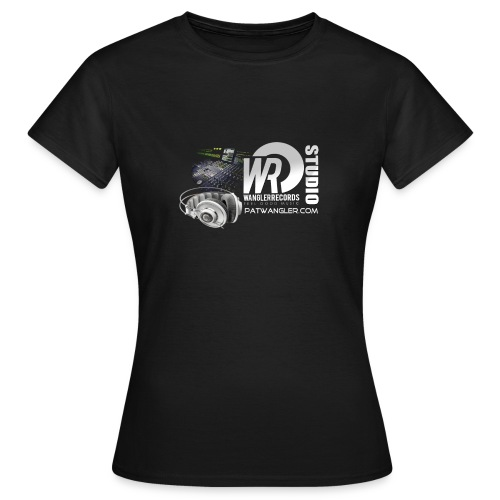 logo wrecordsstudio vs patwangler copie - T-shirt Femme