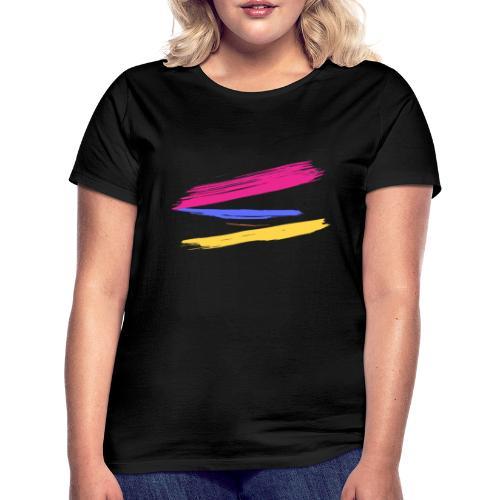 Manchas de Color de Artista - Camiseta mujer