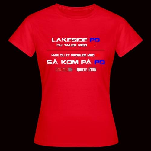 DD på PD Kollektion 2016 - Dame-T-shirt