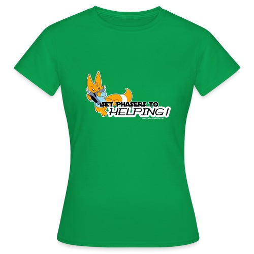 Set Phasers to Helping - Women's T-Shirt