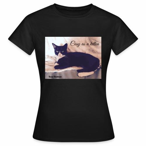 Cosy as a kitten - Women's T-Shirt