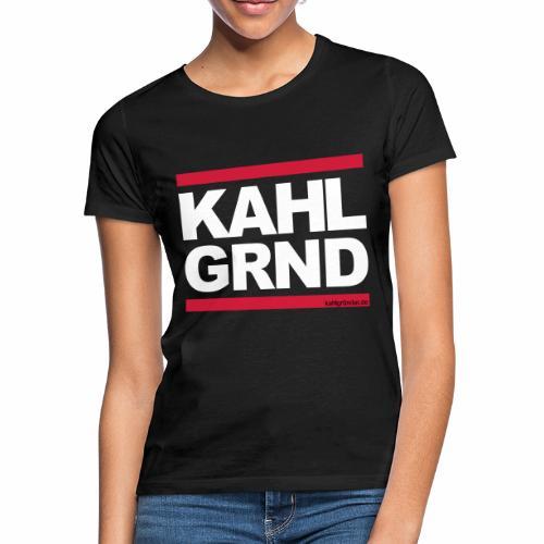 Kahlgründer KAHL GRND - WEIß/ROT - Frauen T-Shirt