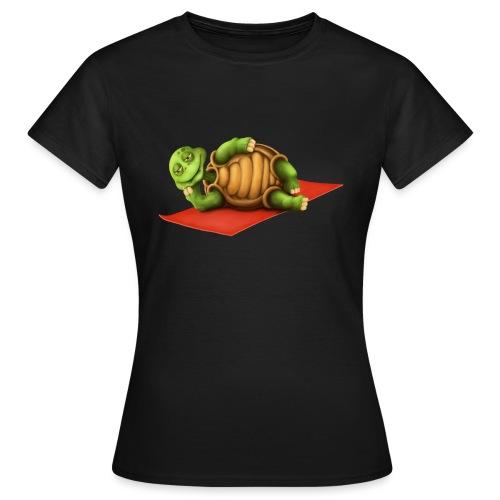 Yoga Vishnu Turtle - Frauen T-Shirt