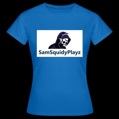 SamSquidyplayz skeleton - Women's T-Shirt