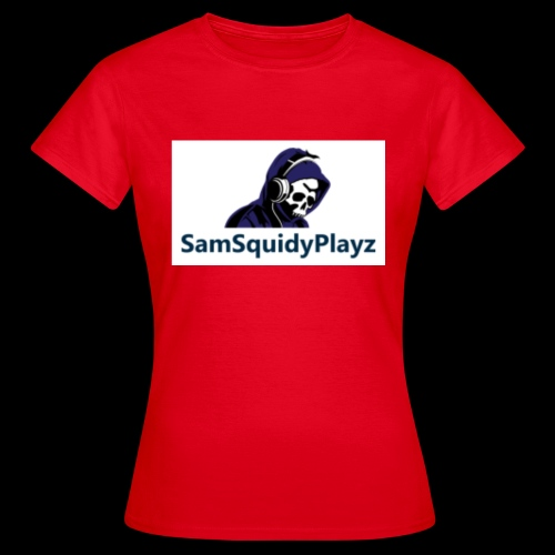 SamSquidyplayz skeleton - Women's T-Shirt
