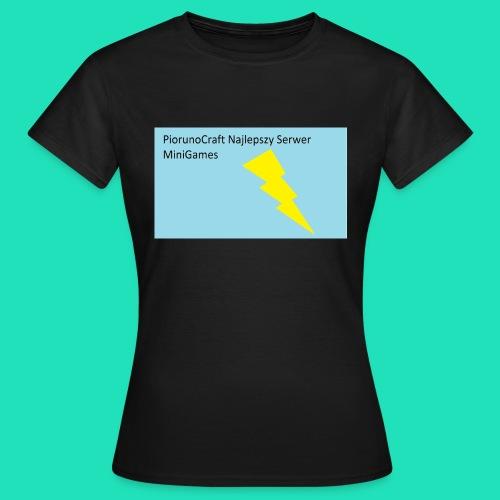 Koszulka Dla Dzieci PiorunoCraft - Koszulka damska