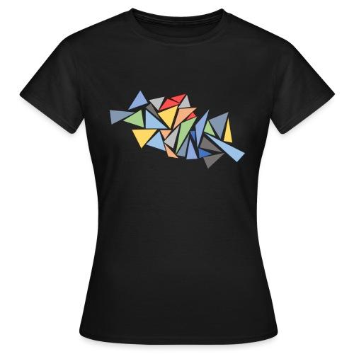 Modern Triangles - Women's T-Shirt