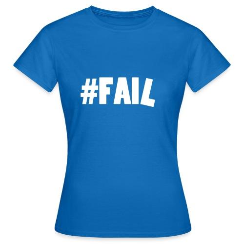 FAIL / White - T-shirt Femme