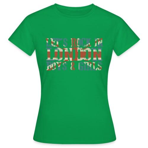 LET'S ROCK IN LONDON - Maglietta da donna