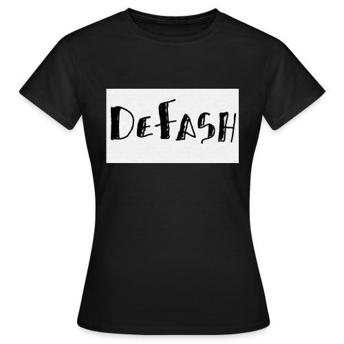 Defash1-png - T-shirt Femme