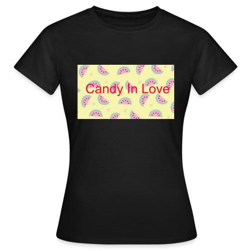 Merchandise Candy In Love - Vrouwen T-shirt