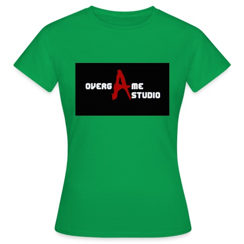 overgameStudio Logo - T-shirt Femme