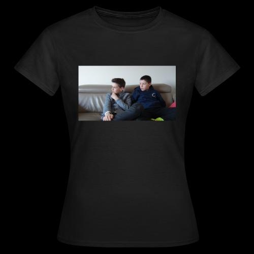 t-shirt de feyskes hd - T-shirt Femme