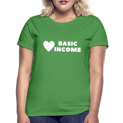 basic income white trans - Vrouwen T-shirt