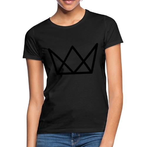 TKG Krone schwarz CMYK - Frauen T-Shirt