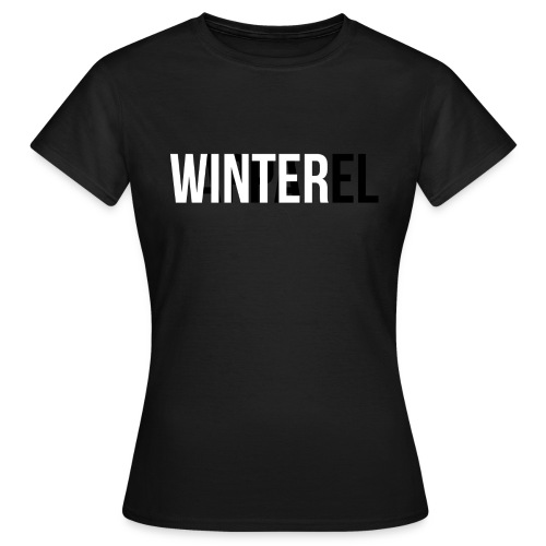 Winter Apparel Logo - Dame-T-shirt