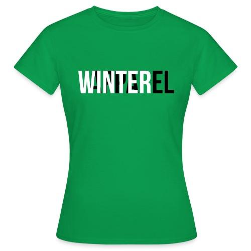Winter Apparel Logo - Dame-T-shirt