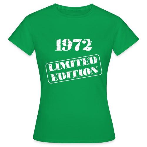 Limited Edition 1972 - Frauen T-Shirt