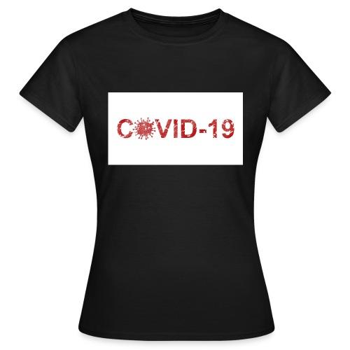 covid 19 - Camiseta mujer