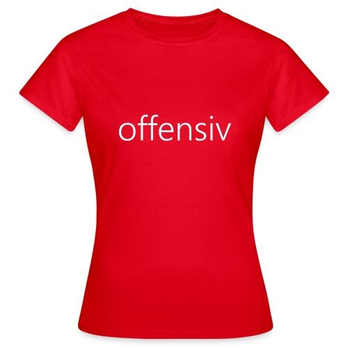 offensiv t-shirt (børn) - Dame-T-shirt