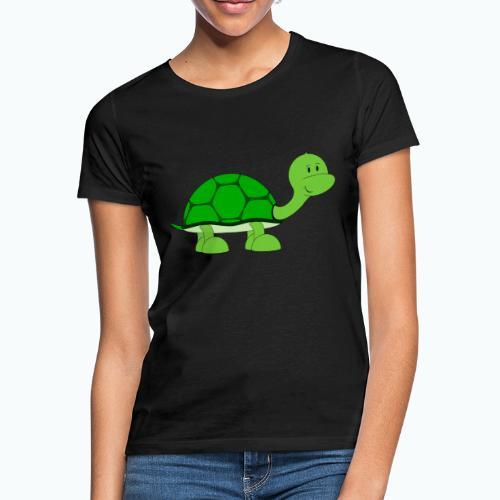 Totte Turtle - Appelsin - T-shirt dam