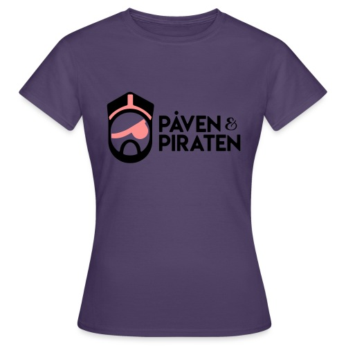 påven piraten - T-shirt dam
