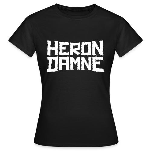 Héron Damné - T-shirt Femme