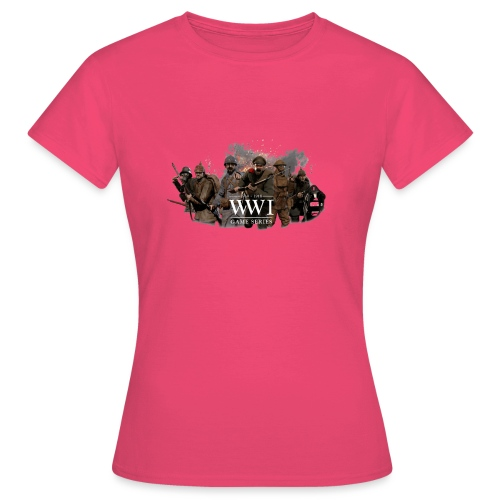 WW1 Game Series - Vrouwen T-shirt