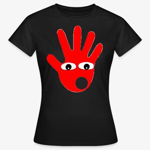 Hände mit Augen - T-shirt Femme