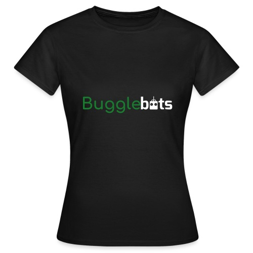 Bugglebots Black Clothing & Accessories - Women's T-Shirt