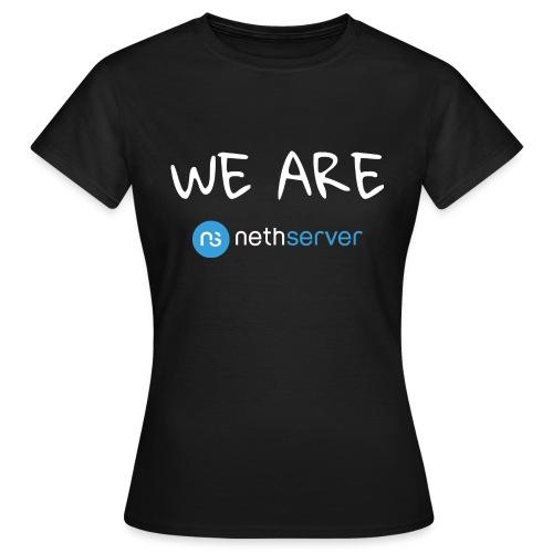 white-blue-rectangular - Women's T-Shirt