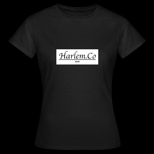 Harlem Co logo White and Black - Women's T-Shirt