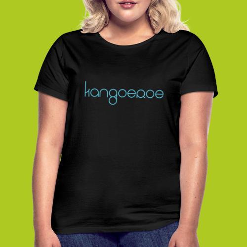 blue kangoeroe design - T-shirt Femme