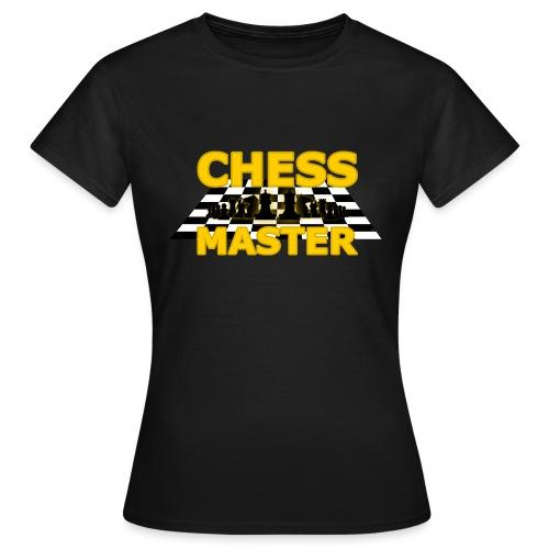 Chess Master - Black Version - By SBDesigns - Women's T-Shirt