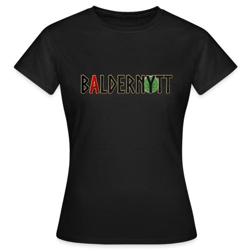 Baldernytt - T-shirt dam