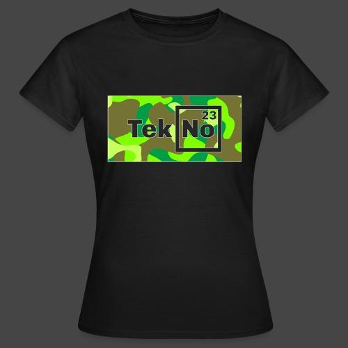 TEKNO 23 CAMOUFLAGE - Maglietta da donna